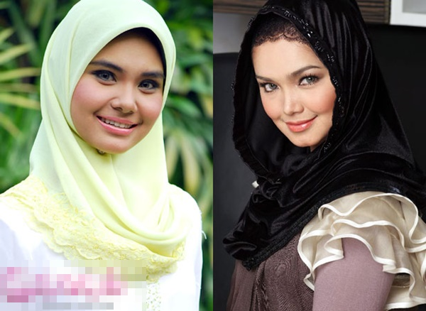 14 artis malaysia berwajah seiras yang ramai tak perasan 6