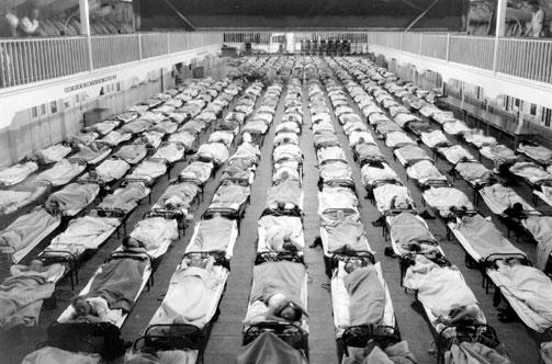 1918 flu pandemik
