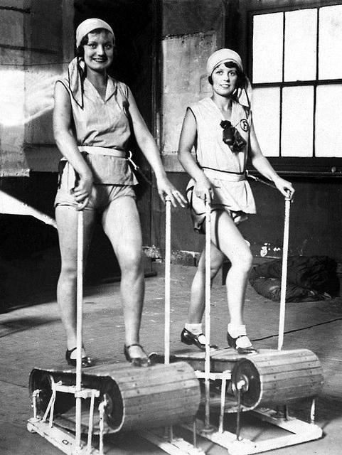 1920s treadmill alat senaman yang mahal