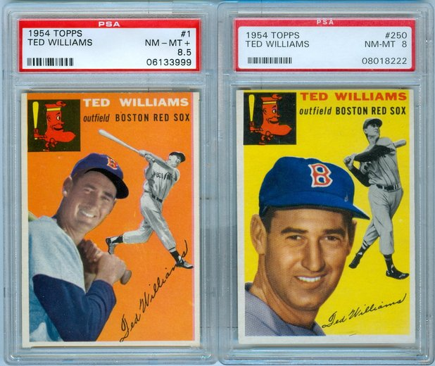 1954 ted williams