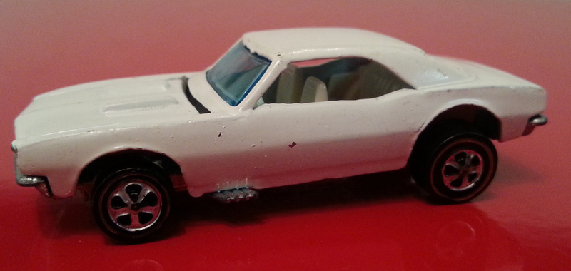1968 white enamel camaro