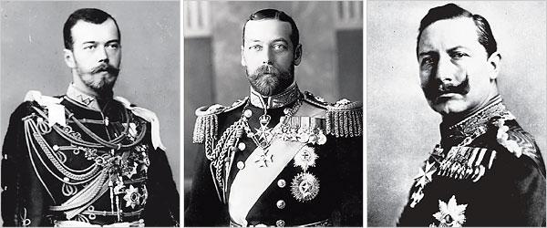 3 watak utama perang adalah bersaudara 8 fakta brutal yang ramai tak tahu mengenai perang dunia pertama