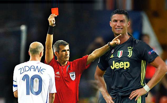 5 kad merah paling kontroversi terhadap pemain bintang sukan bola sepak