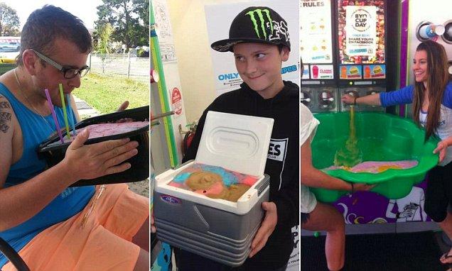 7 eleven membenarkan pelanggan bawa bekas sendiri untuk mengisi slurpee