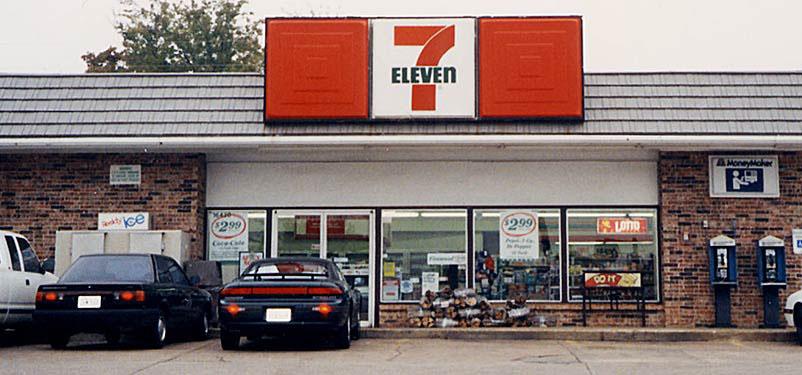 7 eleven sekitar tahun 1980an