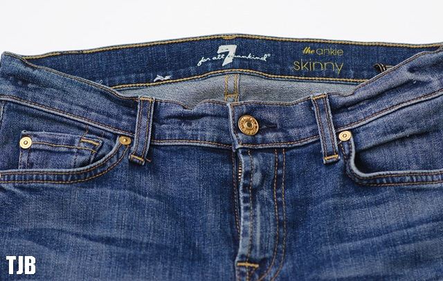 7 for all mankind seluar jeans paling mahal
