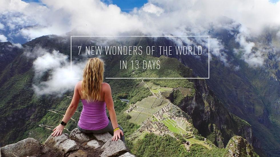 7 keajaiban dunia 13 hari