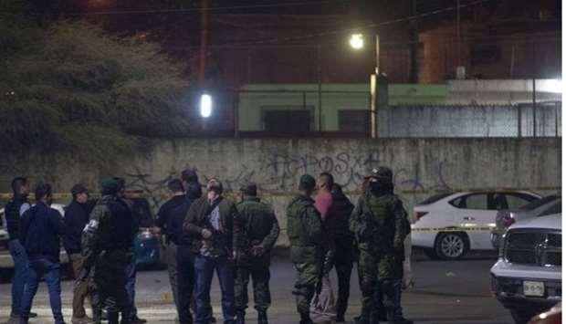 7 peminat bola sepak mati ditembak di monterrey