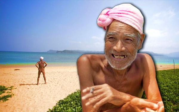 82 tahun masafumi nagasaki tinggal di pulau