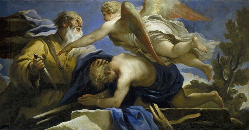 abraham malaikat dan isaac