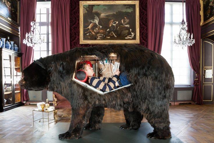 abraham pernah hidup dalam rangka beruang sebenar