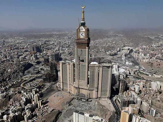 abraj al bait mecca bangunan paling besar di dunia