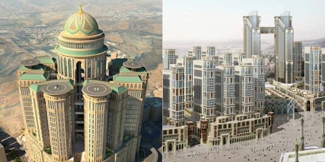 abraj kudai hotel terbesar dunia
