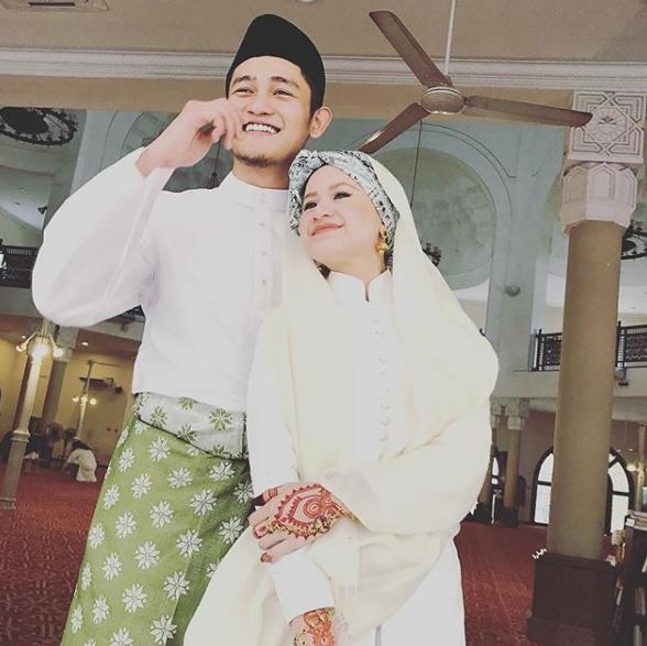 adik sharifah amani kahwin netizen terkejut lihat wajah suaminya macam farid kamil 3