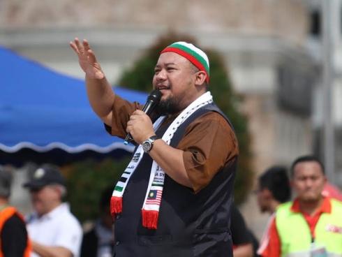 afdlin shauki ajak orang ramai boikot untuk palestin