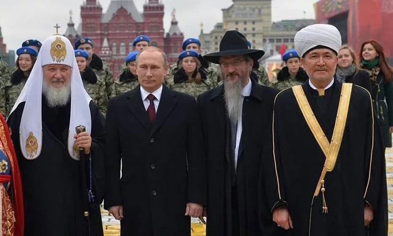 agama agama di russia