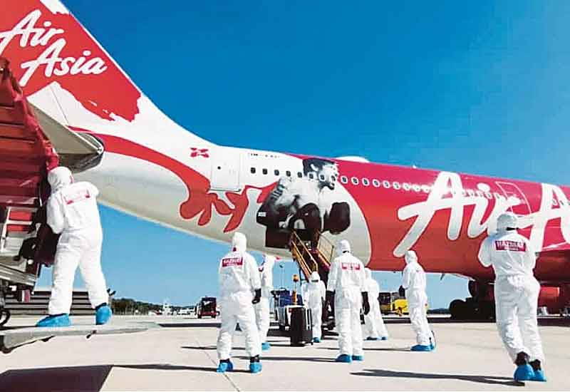 air asia terkandas