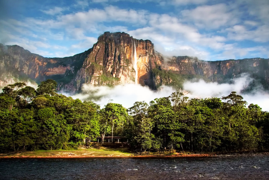 air terjun angel di venezuela adalah yang tertinggi di dunia