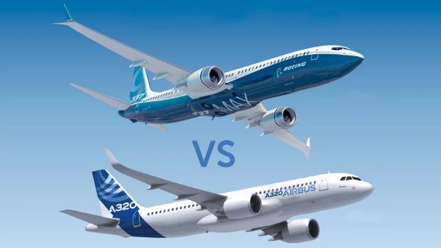 airbus a320 vs boeing 737 max