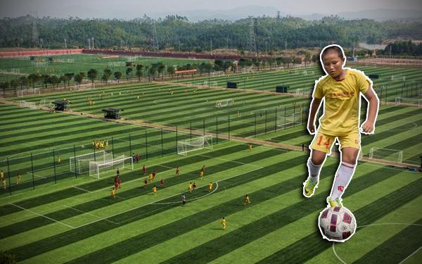 akademi dan padang bola terbesar di dunia 254