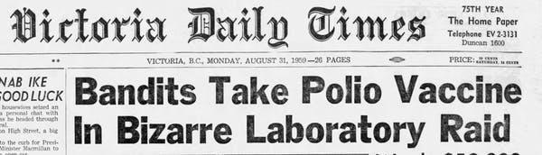 akhbar rompakan vaksin polio 44