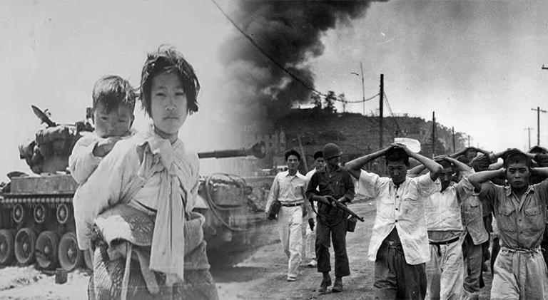 akibat perang saudara perang korea 582