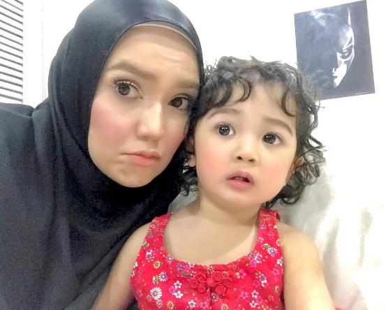 alasan faezah elai tidak buka akaun instagram anak 1