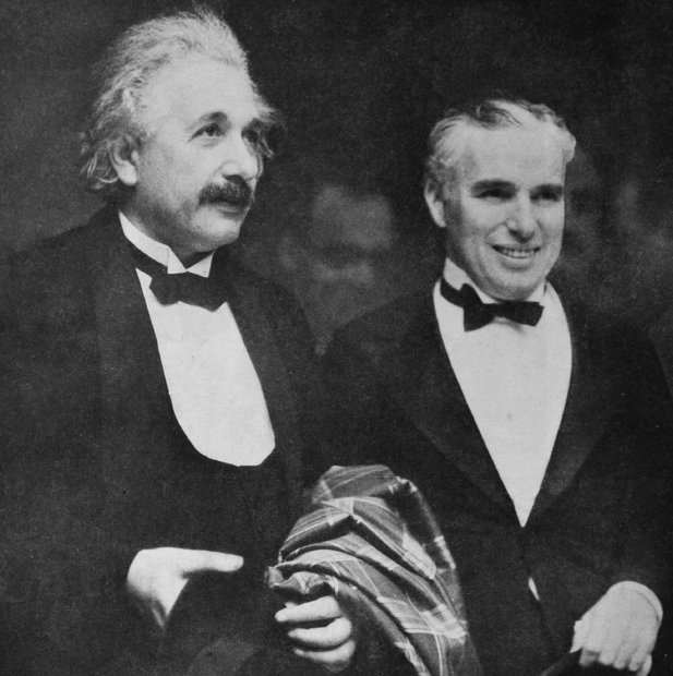 albert einstein charlie chaplin tayangan perdana city lights