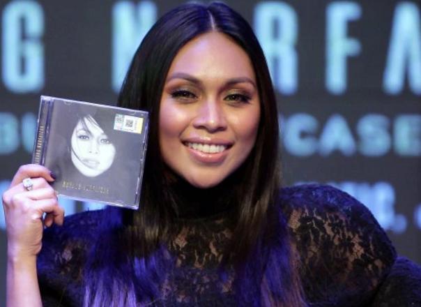 album baru dayang nurfaizah jadi worldwide trending di itunes 4