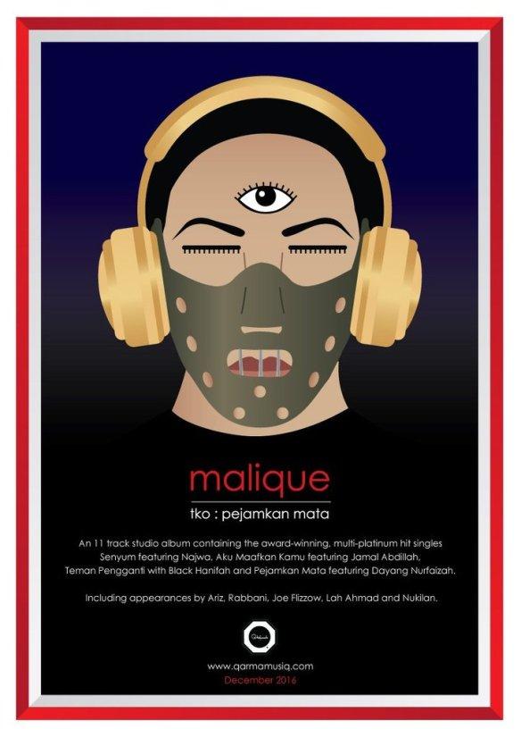 album malique ada lambang dajjal 3