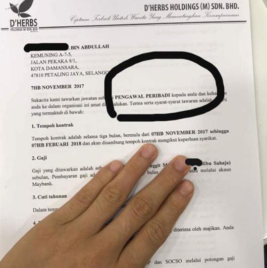 aliff syukri bayar gaji rm1 000 sahaja kepada pengawal peribadi 3