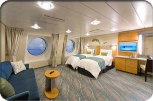 allure of the seas fmily room
