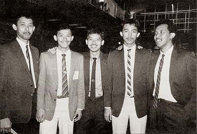 anak anak sidek bintang badminton malaysia