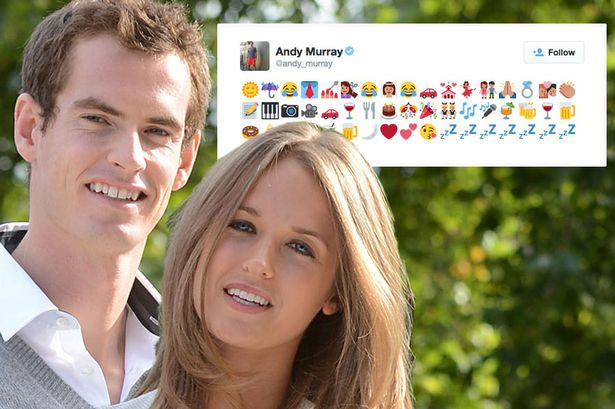 andy murray twitter emoji
