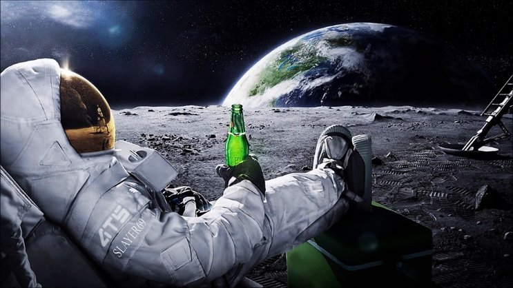 angkasawan lepak di bulan