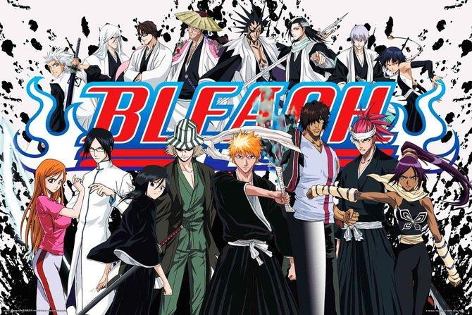 anime bleach yang sangat popular di malaysia