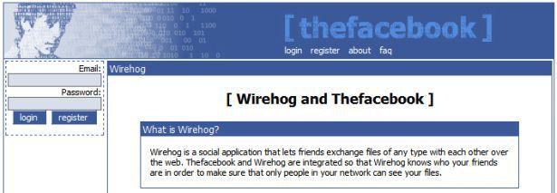 antara fungsi awal facebook adalah sebagai servis perkongsian fail