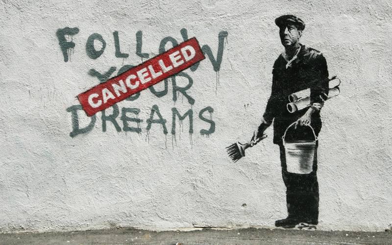 antara karya banksy