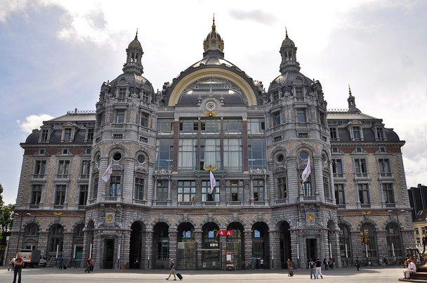 antwerpen centraal railway station stesen kereta api paling cantik di dunia