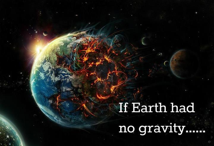 apa akan terjadi kepada bumi tanpa graviti