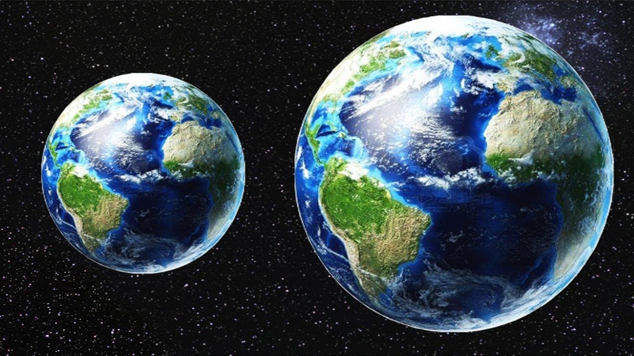 apa akan terjadi sekiranya saiz bumi membesar 2 kali ganda secara tiba tiba