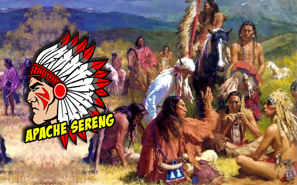 apache red indian native american