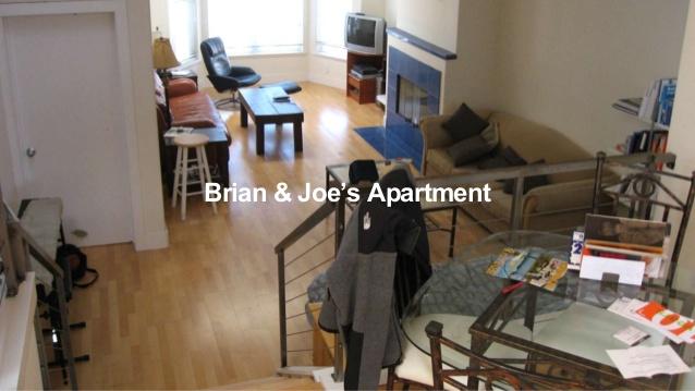 apartment brian dan joe pengasas airbnb