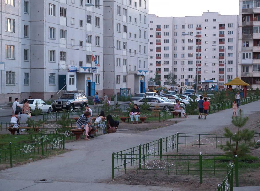 apartment di bandar mongolia