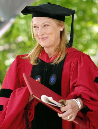 artis wanita beauty with brain lulusan universiti meryl streep