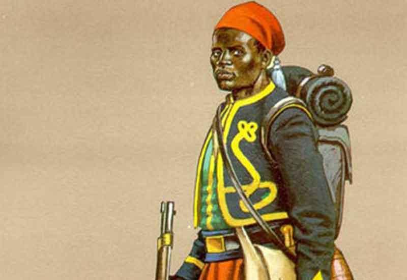askar afrika dalam perang paraguay