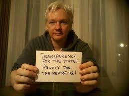 assange dikatakan ingin menegakkan kebenaran dan mendedahkan tipu daya pihak kerajaan seluruh dunia