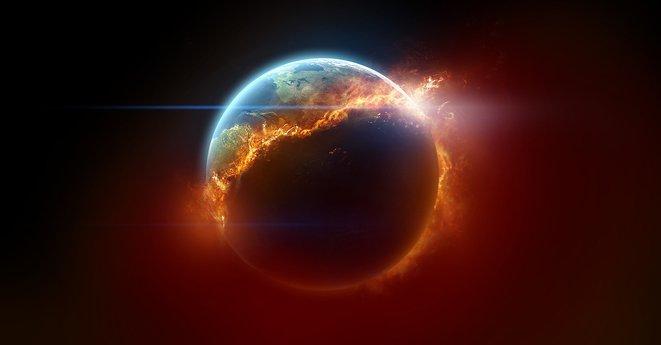 atmotsfera bumi mudah terbakar