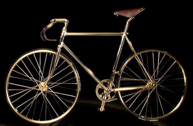 aurumania crystal edition gold bike basikal paling mahal di dunia