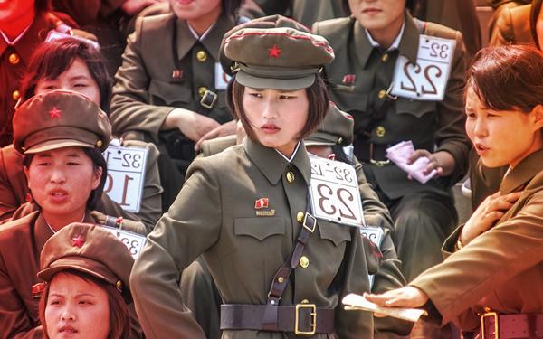 awek cun tentera askar korea utara